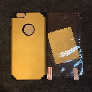 Accessories - Brand new iPhone 6/6S plus with screen protector